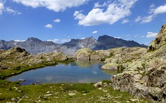 lac de Morgon (8) (b.four) Tags: montagna montagne mountain lake lago lac morgon hautetinée alpesmaritimes coth5