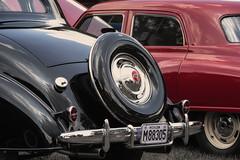 Vintage (DJ Wolfman) Tags: olympus vintage em1ii 12100f4zuiko zd ford black red cars chevrolet