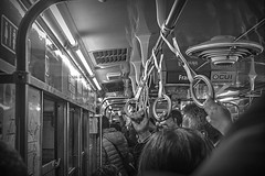 Subway travel (Wal Wsg) Tags: subway subte subterraneo subteargentino subtec subtelineac metro argentina argentinabsas buenosaires caba capitalfederal ciudadautonoma ciudaddebuenosaires canoneosrebelt3 byn bw blackandwhite blancoynegro