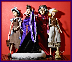 ALL Work and NO Play (DisneyBarbieCollector) Tags: disney snow white the evil queen lady tremaine dolls toys collectibles
