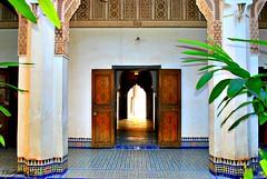 MAROCCO 01-2015- 043 (Elisabeth Gaj) Tags: maroco012015 elisabethgaj marocco marrakech afryka travel architecture building bahiapalace