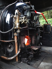 Firebox (Snapshooter46) Tags: victor bagnall 2996 060st lakesideandhaverthwaiterailway cumbria footplate steamlocomotive industriallocomotive firebox