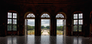 Château Vaux le Vicomte - View into the parc