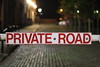 Private? (DannyJohnson96) Tags: private road blur bocca keepoff nightlife night 750d