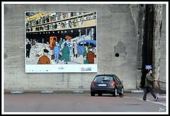 Dans les pas de Tintin.. (2) (au35) Tags: stnazaire tintin port bd