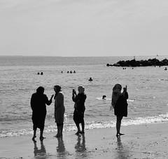 Ocean#NewYork#Brooklyn# (aRa10128) Tags: ocean newyork brooklyn citi women
