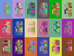 HB Mr. Warhola-11123 (Poetic Medium) Tags: warhol moldiv collage kitcamghostbird birthday ipod popart