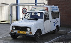 Renault 4 F6 (XBXG) Tags: 07kzp3 renault 4 f6 1991 renault4 4f6 combi basisweg amsterdam nederland holland netherlands paysbas vintage old classic french car auto automobile voiture ancienne française vehicle outdoor