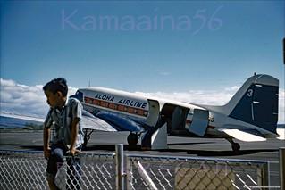 Aloha DC-3 Freighter Kona? 1958