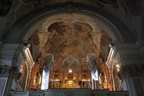 Orgel der Abteikirche St. Michael