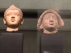 Revamped Ancient Civilisations gallery (SandyEm) Tags: 20september2017 ancientcivilisations aucklandwarmemorialmuseum aucklandmuseum museumgallery gandaharan eevaile buddha hellenistic kushanempire