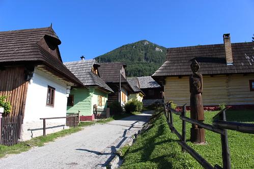 Vlkolínec - UNESCO village in Slovakia