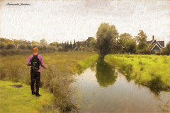 Pescando (alanchanflor) Tags: