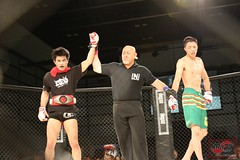 8Y9A6871 (MAZA FIGHT JAPAN) Tags: grachan mma mixed martial arts budo boxing kick punch ring cage tokyo japan japao giappone deep shooto pancrase fight fighting kakutougi maza ota pio hellboy grachan30