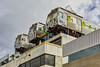 Collingwood roof trains 2017-08-18 (5D_32A2503-5) (ajhaysom) Tags: streetart graffiti collingwood canoneos5dmkiii canon50mmf14 melbourne australia 100xthe2017edition 100x2017 image76100