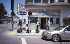 (David Chee) Tags: ricoh gr1v gr1 kodak ultramax 400 california ca oakland merritt international blvd 1st avenue segway palm reader psychic street film analog