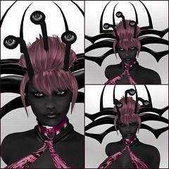 SOUL Eyestalks & Emma D6 Skin HG Collage (melyna.foxclaw) Tags: soul antennae dagon darkblue darkgrey darkskin drow emma eyestalks iheartslfeed omegaappliers romp