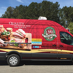 Light Duty Commercial Truck Honourable Mention: Direct Plus Food Group;  graphics by National Graphic Solutions Inc.