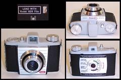 Kodak Bantam Colorsnap camera (camera.etcetera) Tags: kodak bantam camera uk england 828