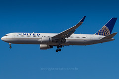 N664UA (rcspotting) Tags: gru sbgr united airlines boeing 767300 n664ua