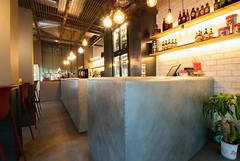 _DSC2063 (fdpdesign) Tags: pizzamaria pizzeria genova viacecchi foce italia italy design nikon d800 d200 furniture shopdesign industrial lampade arredo arredamento legno ferro abete tavoli sedie locali