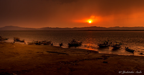 Ayeyarwady Sunset