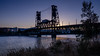 _DSC7900-4 (exceptionaleye) Tags: availablelight a6000 variotessar16354za zeiss za sony sonya6000 ilce6000 portlandoregon oregon steelbridge travel trains transit twilight sunset dusk civiltwilight cityview river willamette willametteriver ngc sonyphotographing