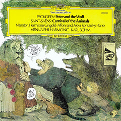 Prokofiev Peter and the Wolf • Saint-Saëns Carnival of the Animals - Böhm Gingold Deutsche Grammophon 1 (sacqueboutier) Tags: vintage vinyl vinylcollection vinyllover vinylnation vinylcollector lp lplover lps lpcollection lpcover lpcollector lpcoverart records record classical classicalmusic music mozart