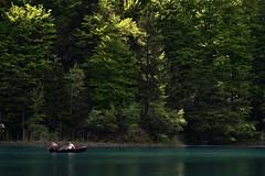 Quiet moments (Zanahr) Tags: lakes landscape place places nature nikon naturelover naturepark nationalpark ngc ngm unesco plitvice park trees travel people adventure forest water boat