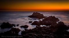 EARTH, WIND, WATER  AND LIGHT (lastminutephoto) Tags: larrymammone asilomar beach subset pacific ocean monterey california long exposure rocks
