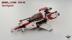 Zelos MkII (CK-MCMLXXXI) Tags: lego moc zelos starfighter small