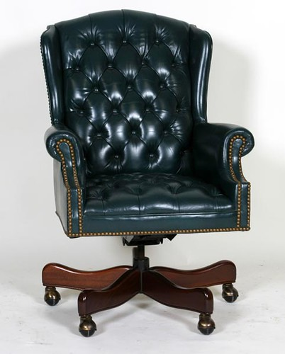 Hancock & Moore Green Leather Office Chair ($532.00)