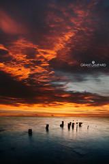 Fire (grant_lampard) Tags: grantlampardphotography grantlampard cornwallweddingphotographer cuba cubacollection flames fire water orange red afterglow sunset sky cloudsstormssunsetssunrises