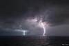 Orage sur la côte Toscane. 10/9/2017 (MarKus Fotos) Tags: orage orages storm foudre italy italie italia toscane thunder thunderstrike tempete lightning eclair éclair éclairs tuscany see sea mer
