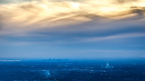 Melbourne Sunset-1