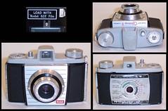 Kodak Bantam Colorsnap II camera (camera.etcetera) Tags: kodak bantam camera england uk 828