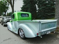 Happy Truck Thursday (novice09) Tags: htt truckthursday chevrolet backtothefifties carshow 1940 customized streetrod ipiccy pickup