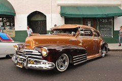 Ventura Nationals Cruise Night 2017 (USautos98) Tags: 1948 chevrolet chevy fleetline bomb lowrider kustom