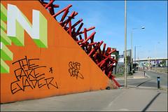 The Fare Evader (Alex Ellison) Tags: southlondon urban graffiti graff boobs dsep cute thefareevader tag osv