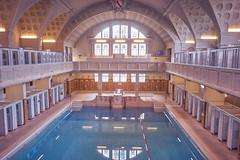 The pool - (Explored 17-09-2017) (Caropaulus) Tags: strasbourg bains municipaux pool piscine indoor alpha7 swimmingpool reflection mirrormirror flickrfriday
