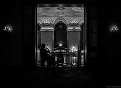 Palmer House, Chicago (piano62) Tags: chicago thepalmerhouse opulence hotels oldschool oldmoney watching blackandwhite monochrome sonya7rii sony28mmf2