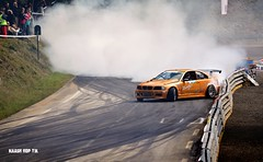 Kiss the wall (Nidjo) Tags: bmw e46 turbo drift chamrousse cfd drifting drited smoke tires kissthewall