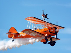 DSCN40588 (dkmcr) Tags: southportairshow southport airshow aircraft aeroplane formation display aerobatic 17th september 2017 flying breitli boeing stearman wingwalker