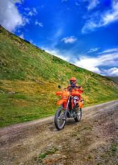 Finally it's Friday...💨 (carlesbaeza) Tags: advrider adventure adventurerider motobiker moto motorcycle motorrad offroad ngc travel ktm trail xladv landscape colours