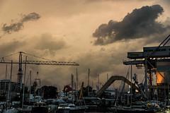 10092017-DSC_0391 (Horror_Paradise) Tags: smoke cloud clouds sky cala sicily palermo mare sea cloudy fog landscape cityscape
