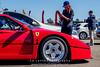 Red-Ferrari-F40-sports-car-in-sydney-by-la-lente-photography-lady-taking-photo (Paul D'Ambra - Australia) Tags: car red ferrari sportscar redsportscar redferrari vehicle motorvehicle redf40