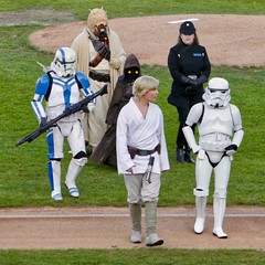Star Wars Night with the Bridgeport Bluefish (9/16/2017) (nomad7674) Tags: 2017 20170916 september bridgeport bluefish minor league baseball milb ct bridgeportct bpt star wars starwars characters scifi science fiction sciencefiction