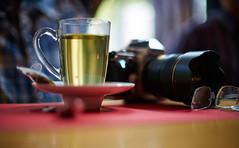 Nikkor 50/1.2 @ f/1.2 on Sony a7RII (JanAnneO) Tags: sony a7rii nikkor 50 12 f12 green tea nikon df