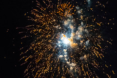 Fireworks for Homecoming (wernsmannlynn) Tags: fireworks smoke sparkles night