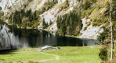 Hiker`s View (*Capture the Moment*) Tags: 2014 autumn elemente lake landschaft landschaften obersee olympusxz2 olympusxz2stylus reflections reflexion see sky wasser water
